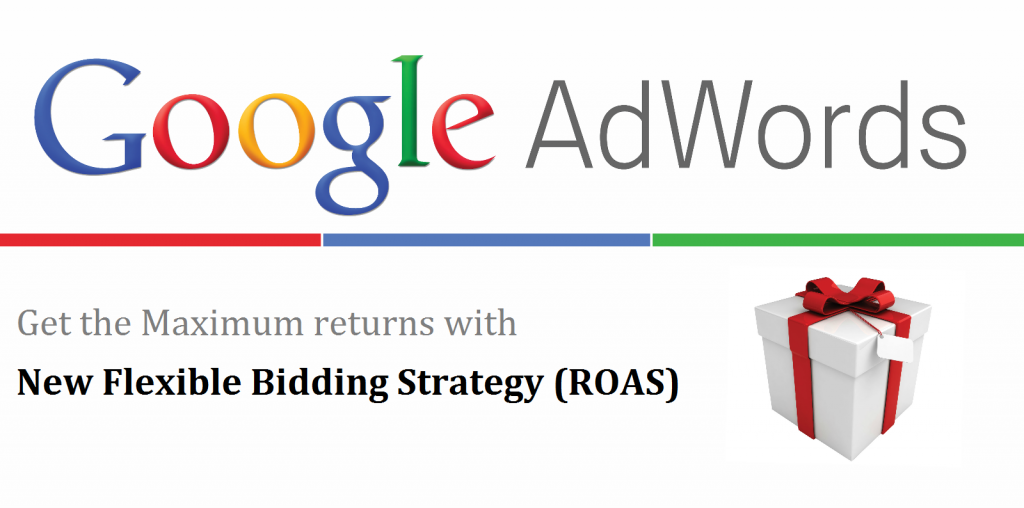 flexible bidding strategy (ROAS)